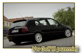 Vw Golf III pczerniej