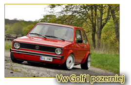 Vw Golf I pczerniej