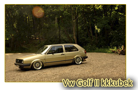 Vw Golf II kkkubek