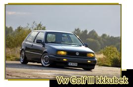 Vw Golf III kkkubek