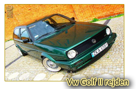 Vw Golf II rejden