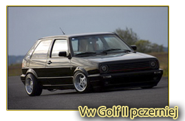 Vw Golf II pczerniej