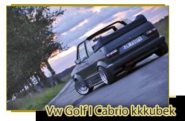 Vw Golf I Cabrio kkkubek