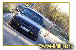 Vw Golf III jarek